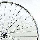 700c 8/9 Speed Cassette Rear Wheel Narrow Section Alloy Quick Release Black