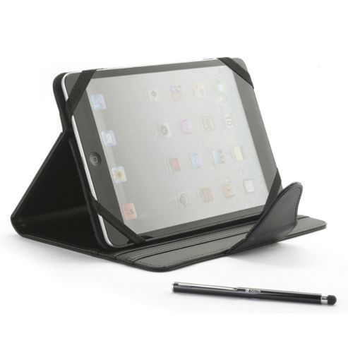 NGS Codex Kit 7-8 Inch Universal Case with 3 Positions and Stylus for iPad Mini, Galaxy Tab, Kindle Fire and Nexus Tablets, Black (943527)