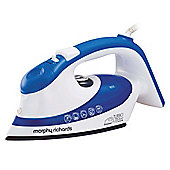 Morphy Richards 300601 Ceramic Plate EcoT Steam Iron - Blue & White.
