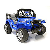 Kids Electric Car Big Foot Monster Truck 12 Volt Blue