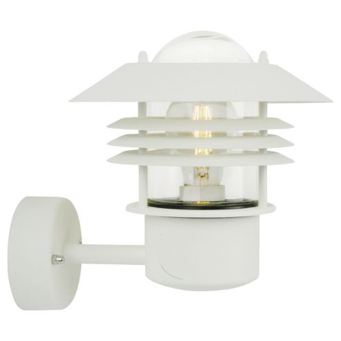 Buy Nordlux Vejers Up Wall Light - Galvanized Steel / White from our Outdoor Lanterns range - Tesco