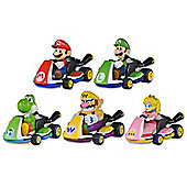 Tomy Pocket Money Toys Mario Kart Eight Pull Back Racers - Toys/Games