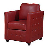 Furniture Link Bari Club Chair - Red
