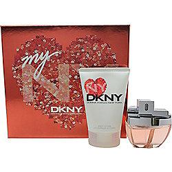 DKNY My NY Gift Set 50ml EDP Spray + 100ml Body Lotion For Women