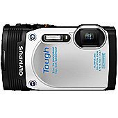 Olympus TG-850 Tough Camera White 16MP 5xZoom 3.0LCD FHD Wtprf 10M