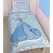 Cinderella Bedding. Girls Single Duvet
