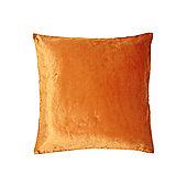 Linea Rust Oversized Velvet Cushion