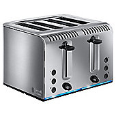 Russell Hobbs Buckingham 20750 4 Slice Toaster - Stainless Steel