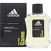 Adidas Pure Game Eau de Toilette (EDT) 100ml Spray For Men