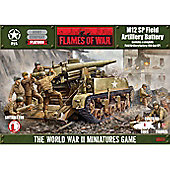 USA - M12 155mm GMC Field Artillery Battery - Flames of War