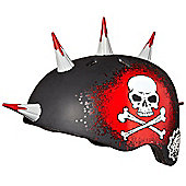 Krash Jolly Roger Spikes Safety Helmet