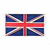 Homescapes Cotton Printed Rug Union Jack, 70 x 120 cm