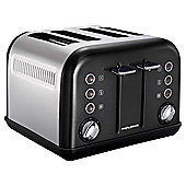 Morphy Richards Accents 242004 4 Slice Toaster - Black