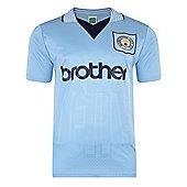 Manchester City 1996 Shirt - Blue