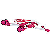 Mookie Scramblebug Ride-on, Candy Pink
