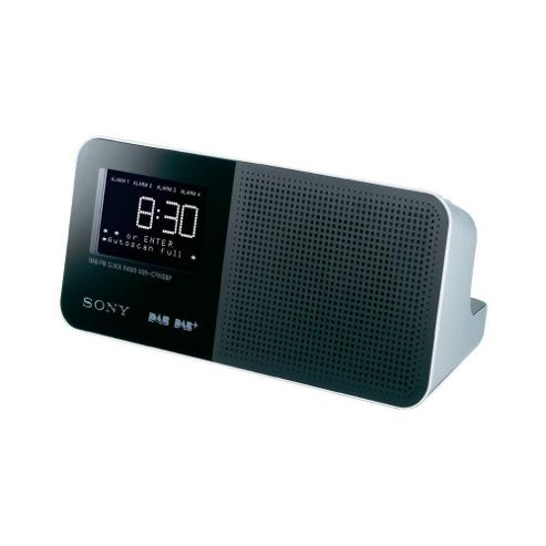 buy sony xdr c706dbp clock radio white from our clock radio range tesco. Black Bedroom Furniture Sets. Home Design Ideas