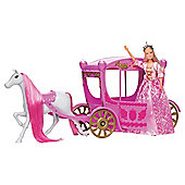 Steffi Doll and Carriage
