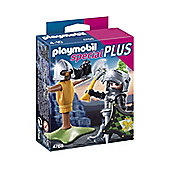 Lion Knight With Training Dummy - Toys - Playmobil