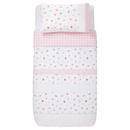 buy tesco kids little bloomer duvet set single from our. Black Bedroom Furniture Sets. Home Design Ideas