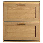 Kendal Shoe Cabinet, Oak-effect