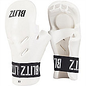 Blitz - Dipped Foam Tag - White