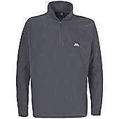 Trespass Mens Masonville Zip Micro Fleece - Grey