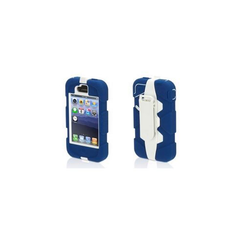 Griffin Technology Survivor Military Duty Case For iPhone 4/4S - Blue/White