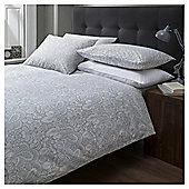 Cotton Rich Maurice Printed Damask Duvet Set, Superking