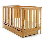 Obaby York Cot Bed & Under Drawer - Country Pine