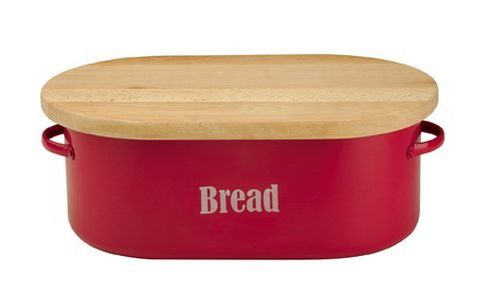 Typhoon Red Bread Bin