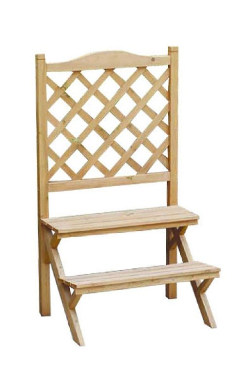 buy bentley garden wooden 2 tier lattice plant stand from