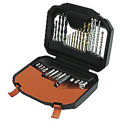 Black & Decker 30 Piece Multi Drill Driving Accessory Set