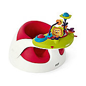 Mamas & Papas Baby Snug with Play Tray, Red