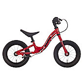"Dawes 12"" Wobble Balance Bike - Red Inch Kids Bike"