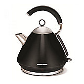 Morphy Richards 102252 Pyramid Kettle, with 1.5L Capacity, in Black
