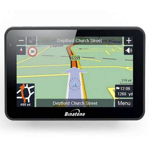 Binatone R430 4.3inch Uk maps Sat Nav