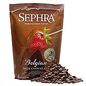 Sephra Belgian Fountain Ready Milk Chocolate, 907g