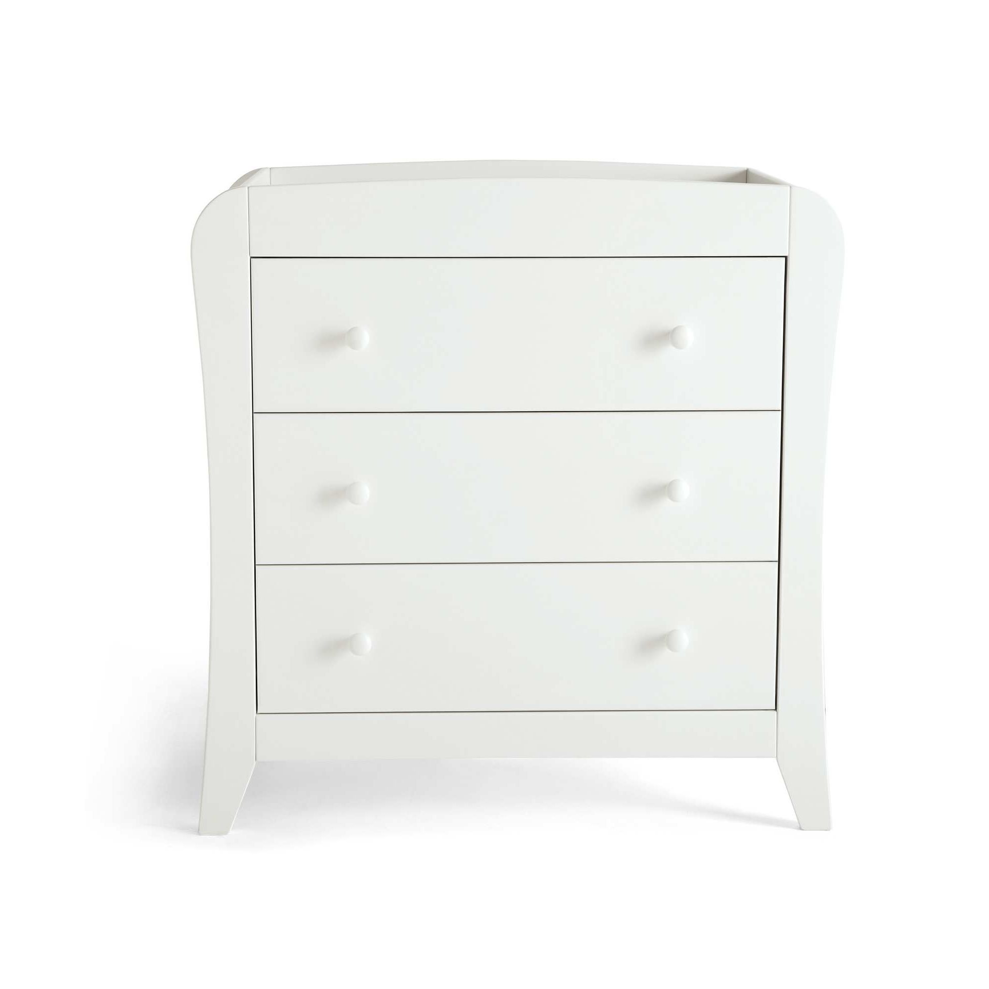Mamas & Papas - Fern White - Dresser with changer at Tesco Direct