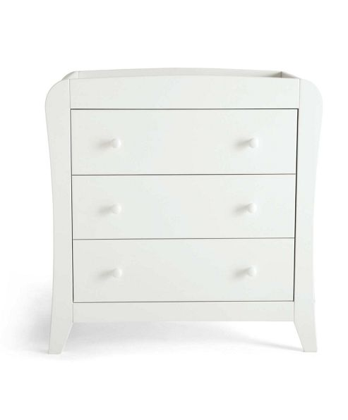 Mamas & Papas - Fern White - Dresser with changer