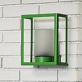 Roger Pradier Hugy Wall Bracket - Clear Glass - Apple Green