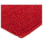 Microchenille Bobble Bathmat Cherry