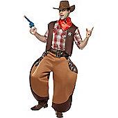 Big Bad John Cowboy - Adult Costume Size: 38-40