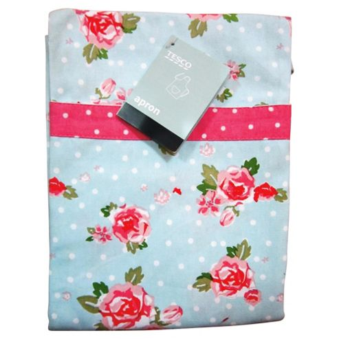 Tesco English Rose Apron