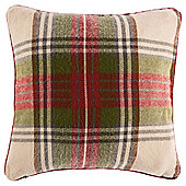 Tesco Tartan Cushion, Multicoloured
