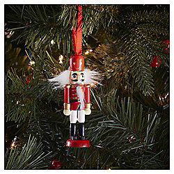 Red Nutcracker Christmas Tree Decoration
