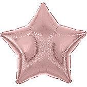 Pastel Pink Dazzler Star Balloon - 19' Foil (each)