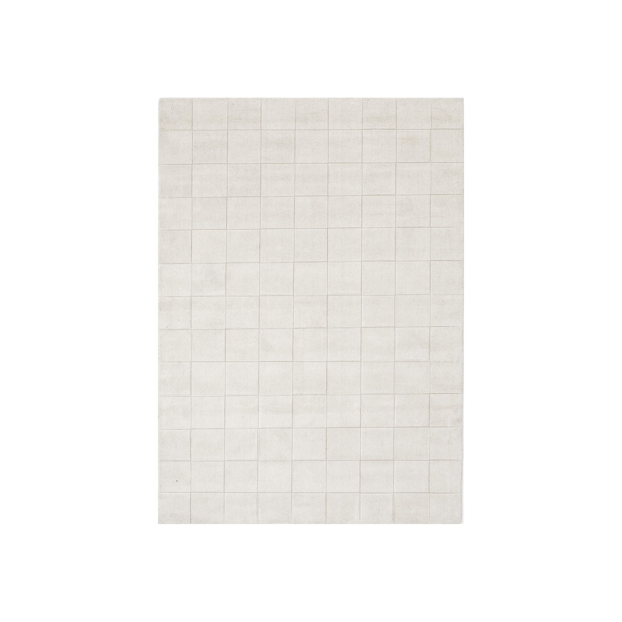 Linie Design Luzern White Rug - 240cm x 170cm at Tesco Direct