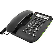 Doro Comfort 3005 Easy to Use Corded Telephone with Answering Machine - Black