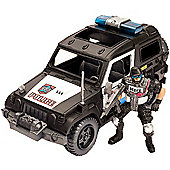 Police Force SWAT 4x4 Car and Figure