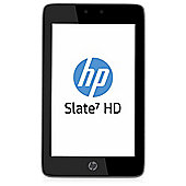 HP Slate 7 HD Tablet with 2 year 3G mobile broadband (Silver)
